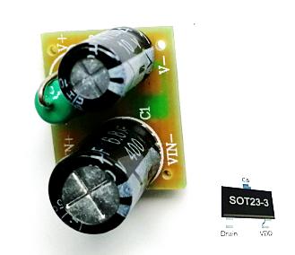 非隔离3W开关电源方案U6110