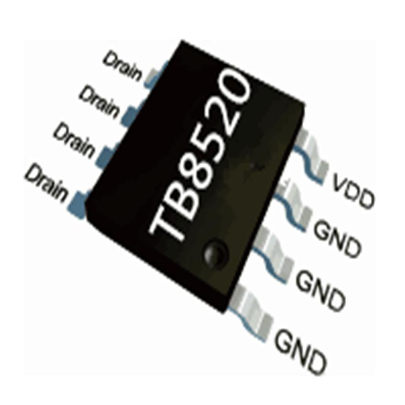 5V2A同步整流芯片TB8520