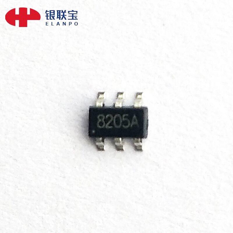低压MOS AP8205 SOT23-6封装